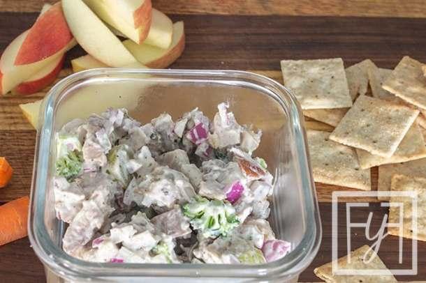 Paleo Dairy Free Chicken Broccoli Salad