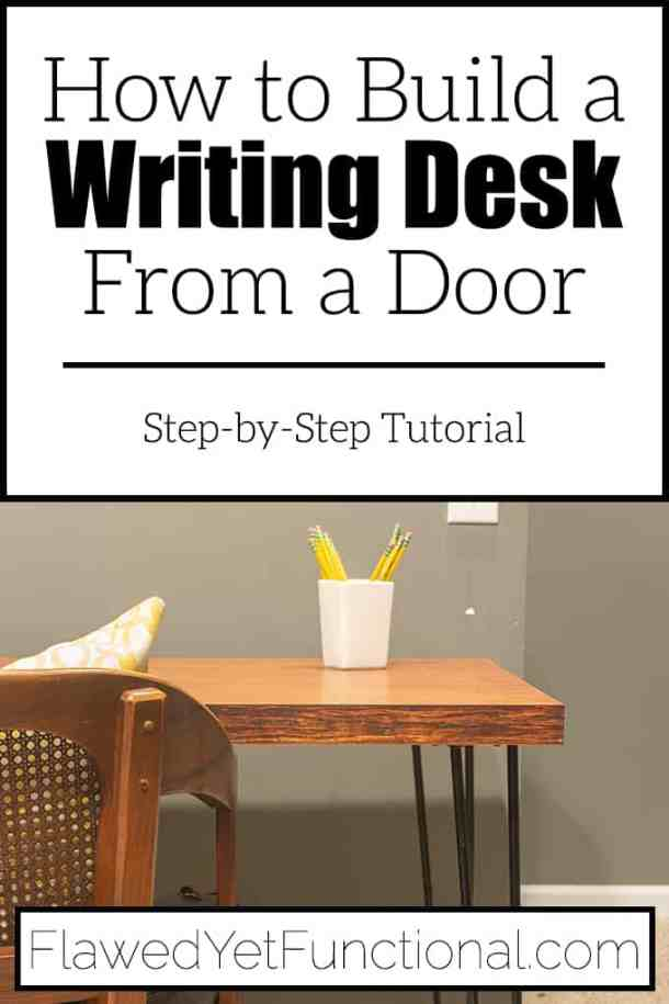 how to build a Desk from a Door
