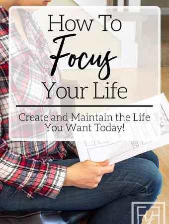 how to create a focused life through goal setting