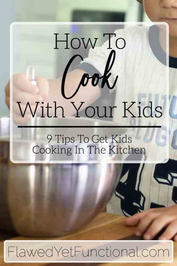 child whisking in bowl for how to cook with your kids