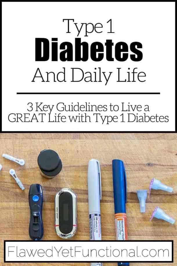 life with type 1 diabetes testing supplies