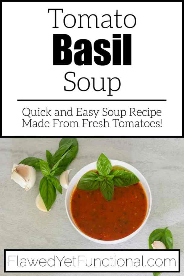 Tomato Soup from Fresh Tomatoes in white bowl