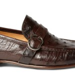 Gucci Ostrich Leather Loafers