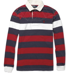 Polo Ralph Lauren Striped Cotton Rugby Shirt