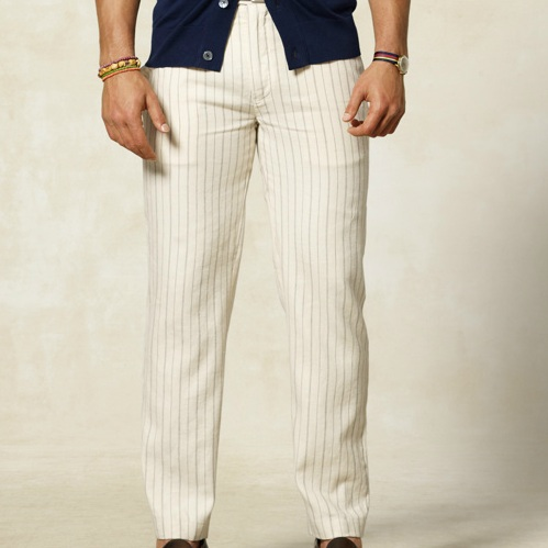 Rugby Ralph Lauren Linen Striped Regatta Trouser