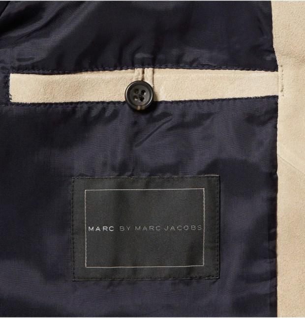 Marc By Marc Jacobs Suede Bomber Jacket