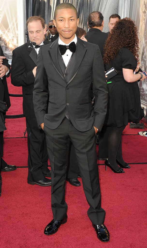 Pharrell Williams 2012 Academy Awards Red Carpet