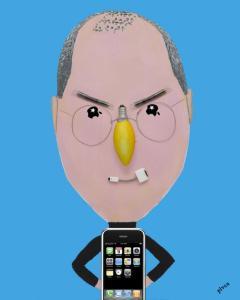 Steve Jobs By Hanoch Piven