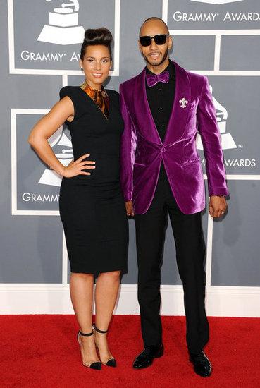 Swizz Beatz Grammys 2012 Red Carpet