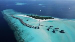 The Cocoa Island private resort in Maldives