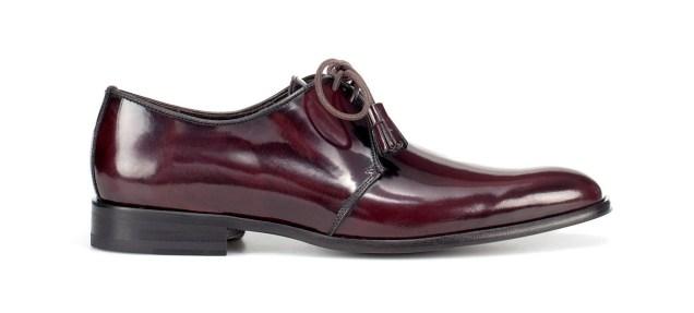 Zara Men's Blucher Shoe With Bow And Tassels