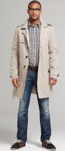 Tommy Hilfiger Men's Trench Coat