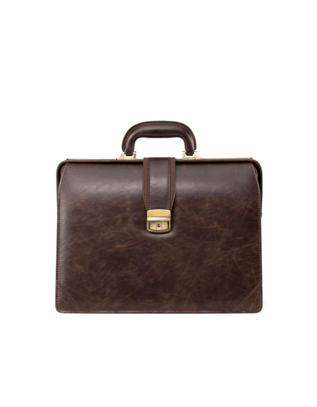 Zara Men's Combined Briefcase With Buckle