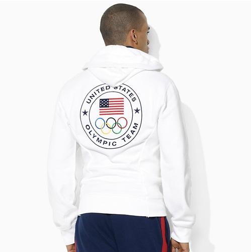 Polo Ralph Lauren 2012 U.S. Olympic Collection Team USA Fleece Big Pony Hood