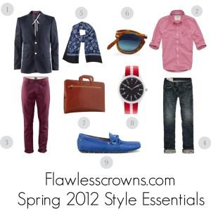 Men's Spring 2012 Style Essentials