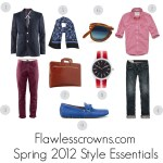Men's Spring 2012 Style Essentials