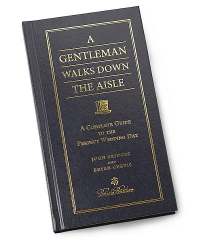 Brooks Brothers A Gentleman Walks Down The Isle Book