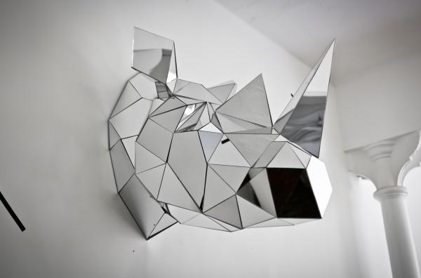 Arran Gregory Rhino Sculpture