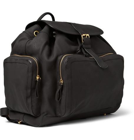 Pierre Hardy Nubuck Leather Backpack