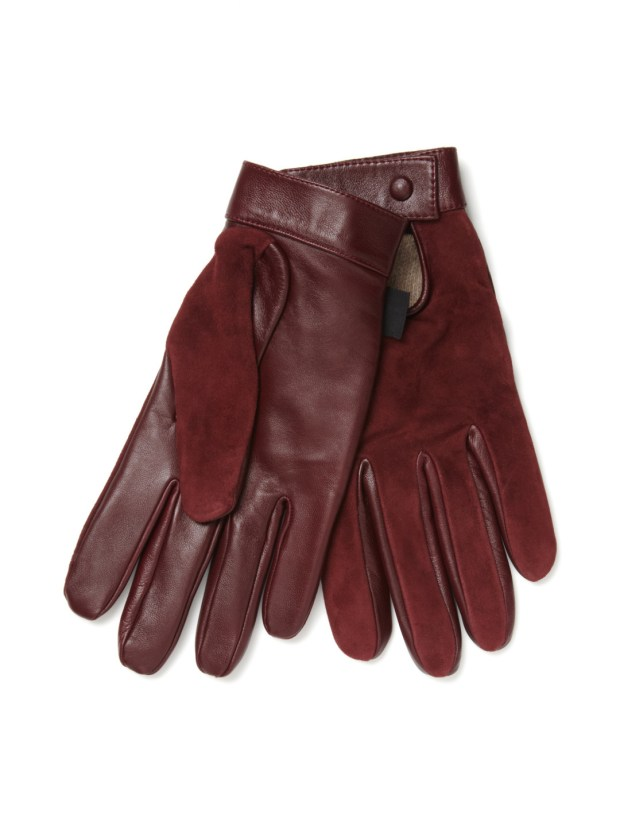 Marc Jacobs Men's Leather Gloves