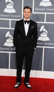 Justin Timberlake 2013 Grammy Awards
