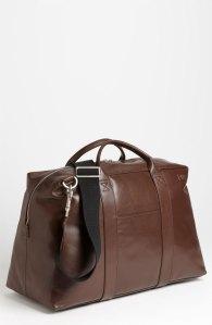 Jack Spade Wayne Leather Duffel Bag