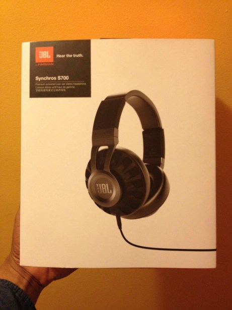 JBL Synchros S700 Headphone Review