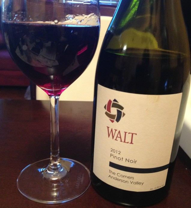 2012 Walt The Corners Anderson Valley Pinot Noir