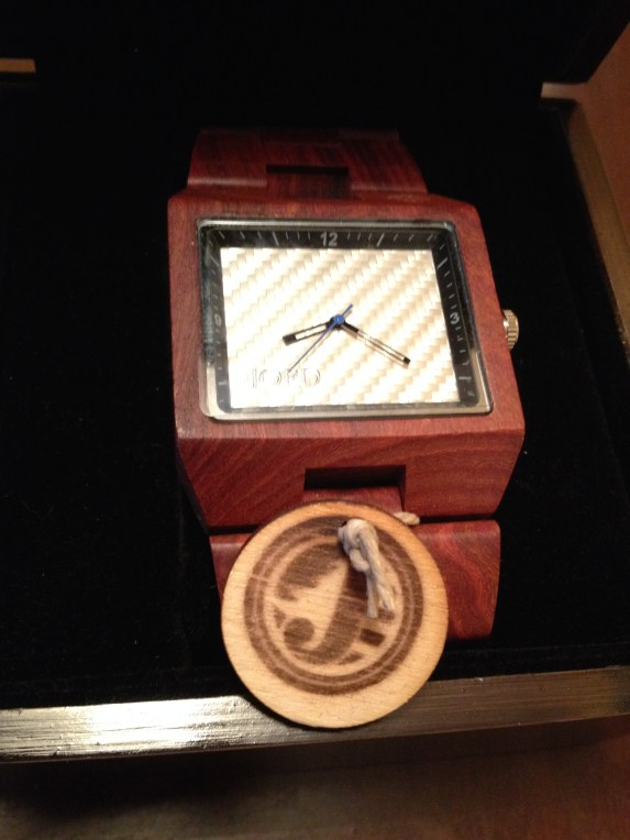 Jord Delmar Wood Watch