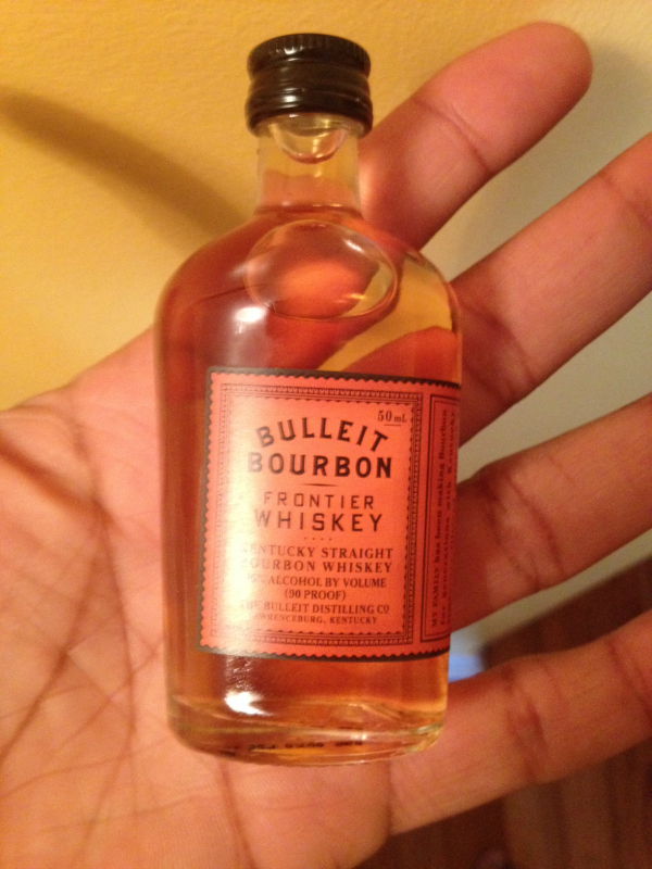 Bulleit Bourbon Whiskey Mini