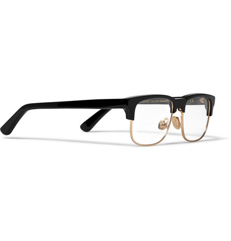 Cutler And Gross Acetate Metal Glasses 2