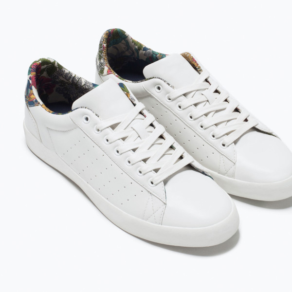 Zara Man Classic Detail Trainer Shoe 2