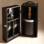 Cedes Milano Champagne Traveling Box