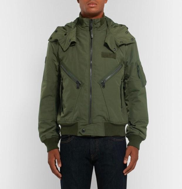Polo Ralph Lauren Padded Shell Hooded Bomber Jacket