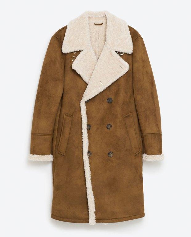 ZARA Man Double-Faced Coat