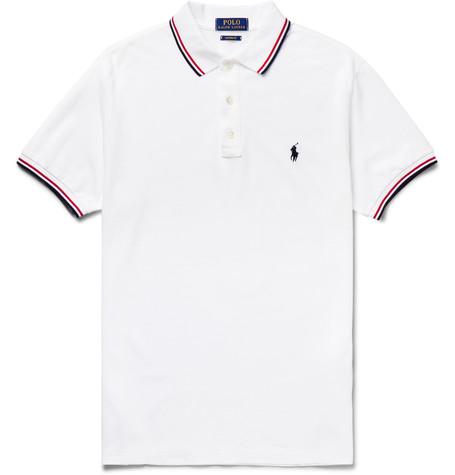 Ralph Lauren Contrasting collar polo shirt 3Xz8o94Li0