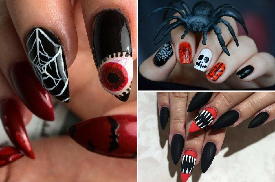 Top 10 Diy Halloween Nail Art Ideas Flawlessend