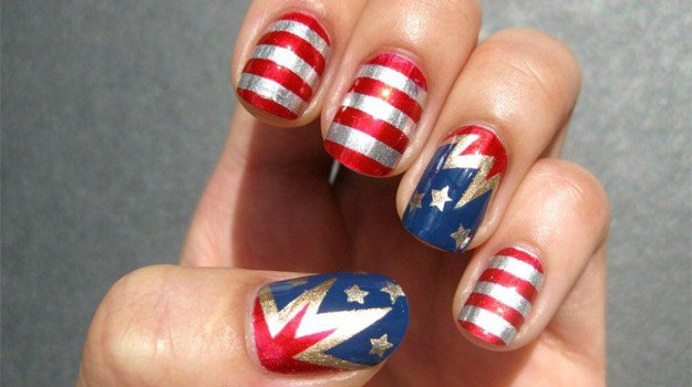 5 fun 4th of july nail designs to show your love for america looking for cool all american ideas for your 4th of july nail designs look no further weve got 20 awesome nail art designs to show off your patriotism prinsesfo Gallery