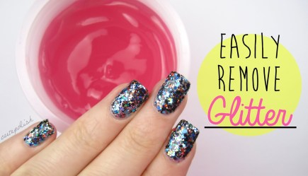 a81e8b3d5ad3 NEW   EASIER Way to Remove Glitter Nail Polish