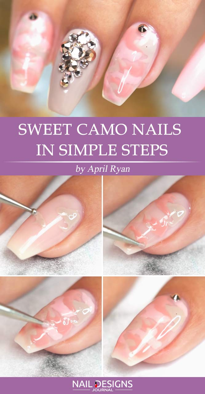 Easy Camo Nails How To Do It In Simple Steps Flawlessend