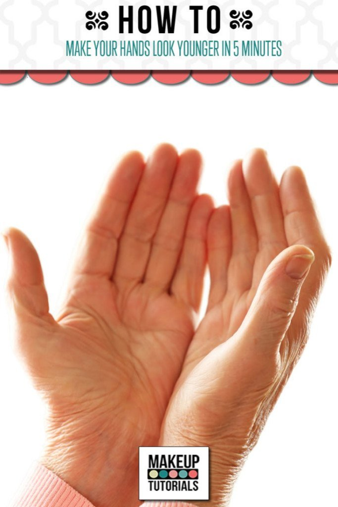 make your hands look younger
