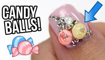 Candy Crush Nail Art Flawlessend