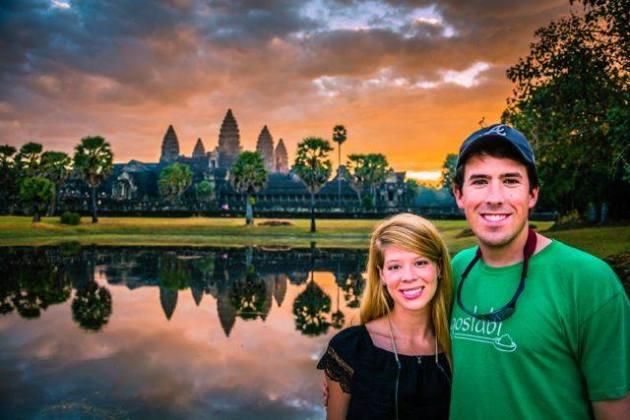 Morgan in Cambodia