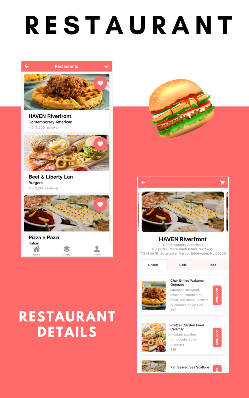 Multi Restaurant and Food Delivery App Template UI (Ionic 5, Angular 10) - 4