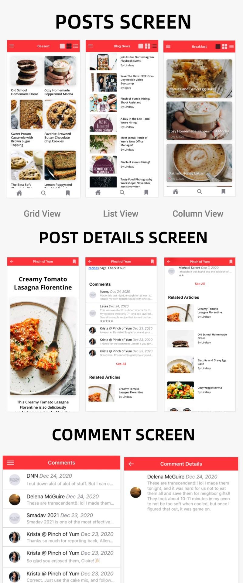 NewsPress - Ionic 5 mobile app for WordPress - 6