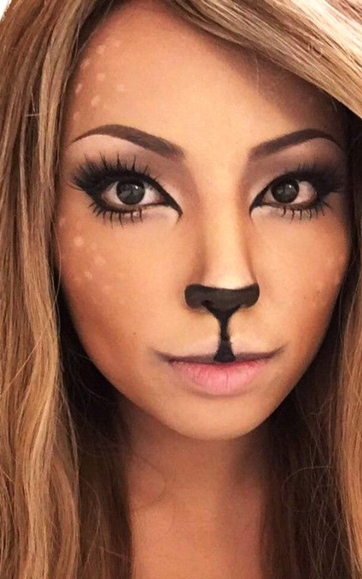 25 Beautiful Halloween Makeup Ideas to Look Fabulous - Flawssy on Make Up Room Ideas  id=47367