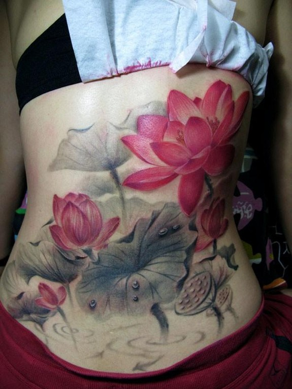 Watercolor Tattoos Lotus Ideas Flawssy