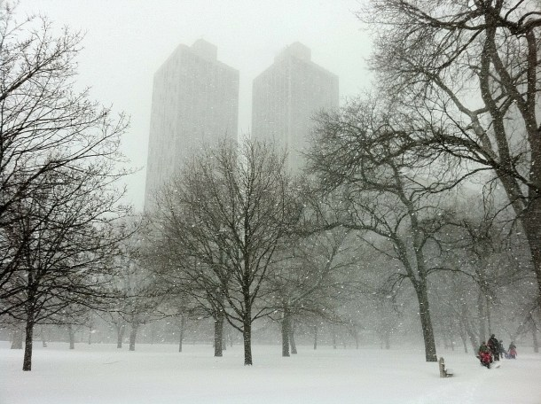 Visiting Chicago in the winter