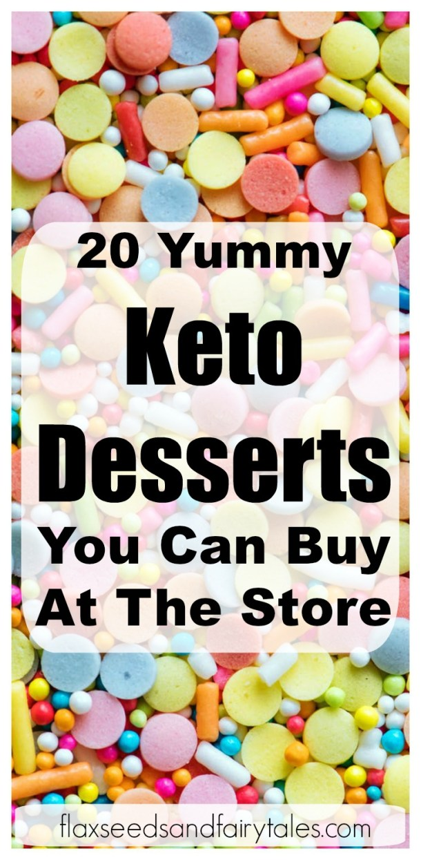 I can't believe these desserts are low carb! I was looking for delicious keto desserts to buy that would help me lose weight! These top 20 yummy store bought keto desserts take the (low carb) cake! I can't wait to try them all.