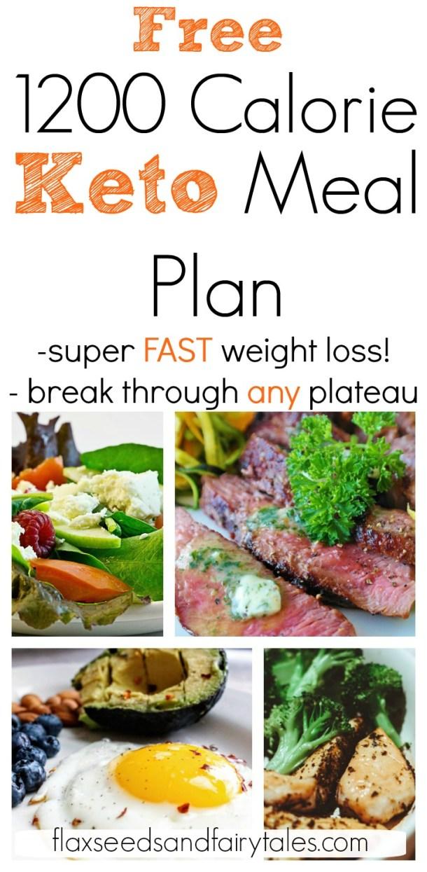 1200 calorie low carb meal plan pdf
